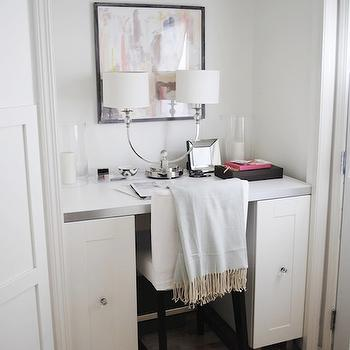 Closet Desk, Transitional, den/library/office, Flourish Design & Style