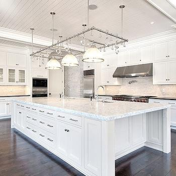 Kitchen with Beadboard Ceiling, Transitional, kitchen, Michael Davis Design