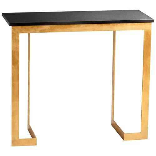 Global Views Link Console: Dante Console Table I Zinc Door