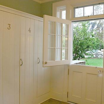 Dutch Door, Transitional, laundry room, Morrow and Morrow