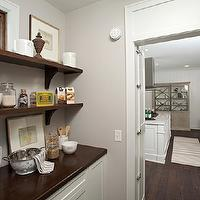Studio M Interiors - kitchens - walk in pantry, walk in pantry ideas, pantry ideas, pantry shelves, stacked shelves, stacked pantry shelves,