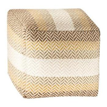 Seating - Threshold Woven Pouf I Target - woven pouf, neural colored woven pouf, neutral striped pouf,