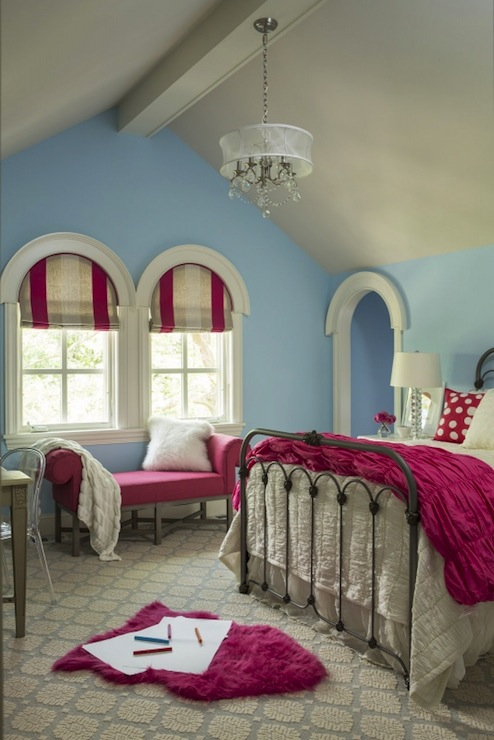 Girl S Room Sherwin Williams Something Blue Martha O
