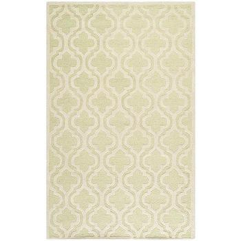Rugs - Safavieh Moroccan Light Green Wool Rug (5' x 8') | Overstock.com - light green moroccan rug, light green moroccan tile rug, light green and ivory moroccan tile rug,