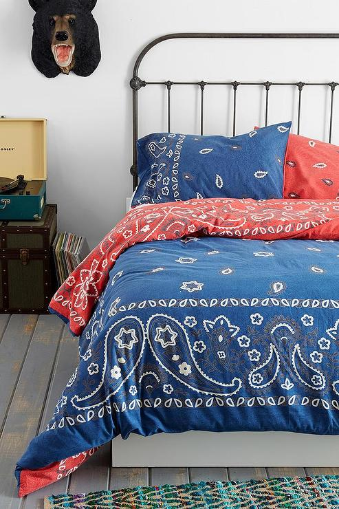 Bandana Duvet Cover I Urban Outfitters