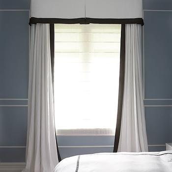Aqua White And Black Bedroom