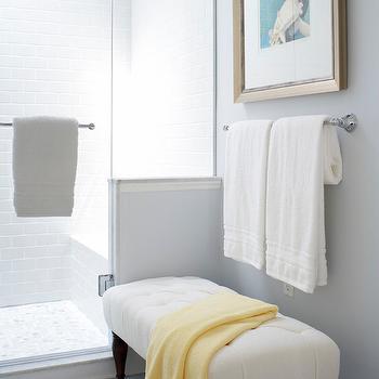 Bathroom Bench, Transitional, bathroom, Kimberley Seldon Design Group