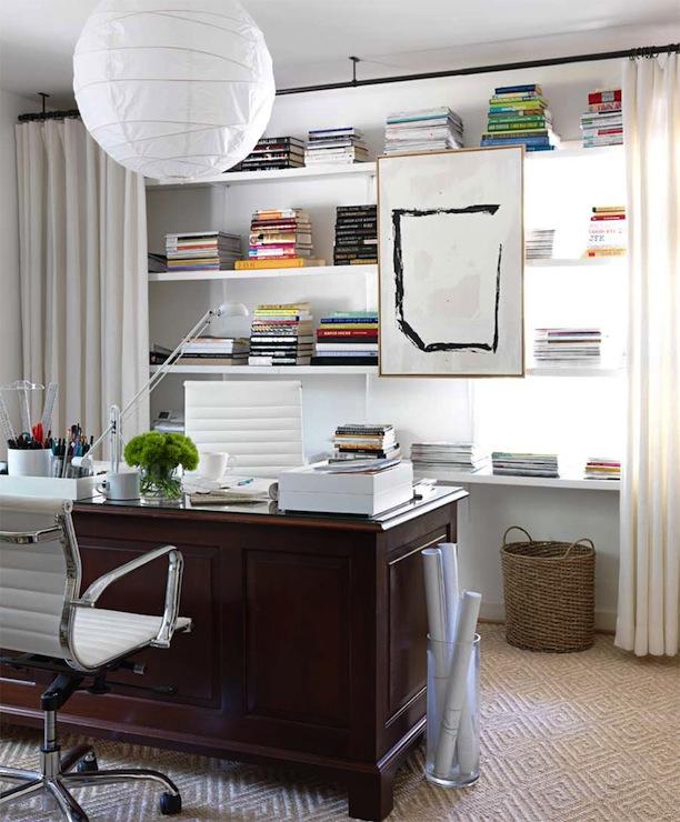 Homeoffice Den Design Ideas:  Den /library/ Office