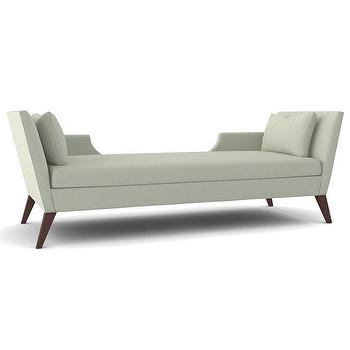 Seating - THE SANDRA NAPPER - DOUBLE CHAISE | Plum Furniture - double chaise lounge, contemporary chaise lounge, two person chaise lounge,