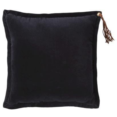 Nate Berkus Velvet Tassel Decorative Pillow - Navy I Target