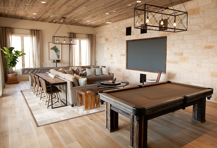 TV Room Ideas Country media room Tracy Hardenburg  : a0d7d9f58804 from www.decorpad.com size 740 x 505 jpeg 141kB