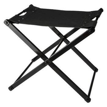 Seating - Nate Berkus Folding Metal Campaign Style Accent I Target - campaign style stool, folding campaign style stool, campaign style accent stool, black campaign style stool,