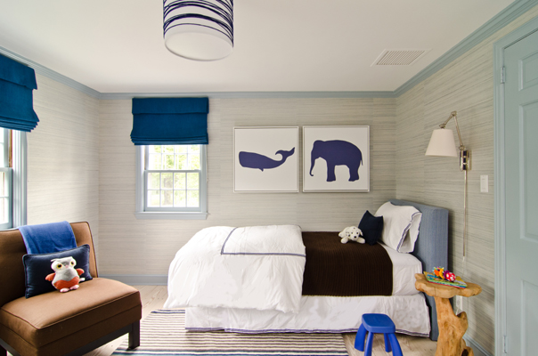 Blue And Gray Boy S Room Contemporary Boy S Room