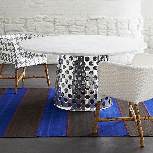 Como Round Marble Top Dining Table Paola Navone Crate  : 4464604f23d3 from www.decorpad.com size 598 x 598 jpeg 65kB