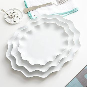 Mallorca Oval Platters, Paola Navone, Crate and Barrel