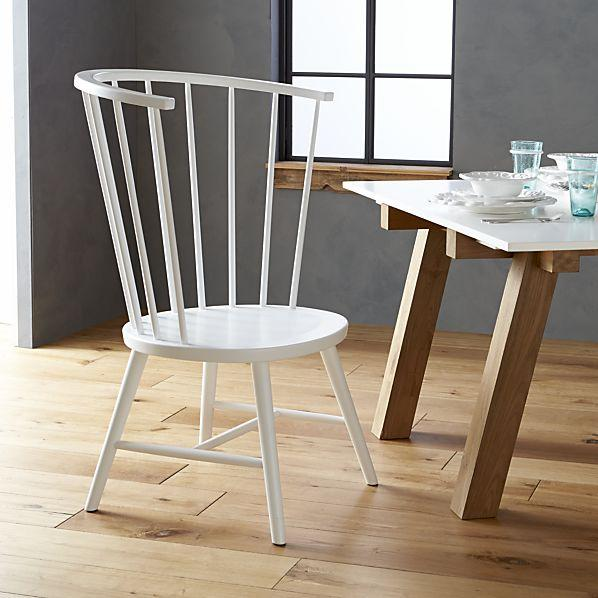 Riviera white tall windsor side chair paola navone for International seating and decor windsor