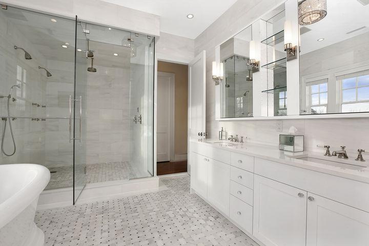 Shower For 2 Transitional Bathroom Carole Reed Design