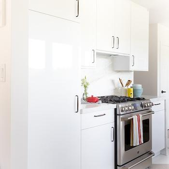 Hidden Fridge, Transitional, kitchen, Croma Design