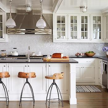 Kitchen with Beadboard Ceiling, Transitional, kitchen, Andrew Howard interior Design