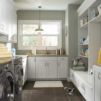 Mudroom Laundry Room, Contemporary, laundry room, Great Kitchens and Baths