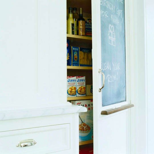 Finding Hidden Storage In Your Kitchen Pantry: Traditional Home