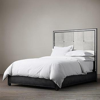 Strand Mirrored Bed I Restoration Hardware