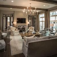 TV Room Ideas - Country - media room - Tracy Hardenburg Designs