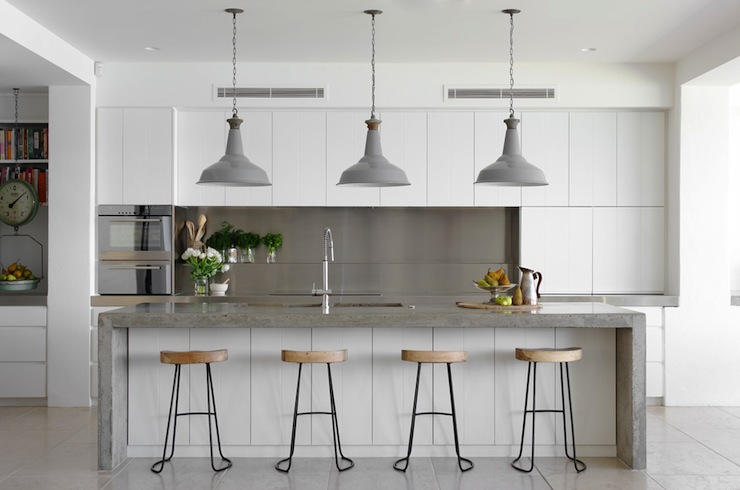 Industrial Kitchen Modern Kitchen Justine Hugh Jones