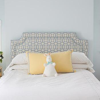 Blue and Yellow Girl's Room, Transitional, girl's room, Mona Ross Berman Interiors