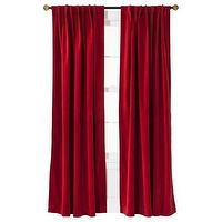 Window Treatments - Threshold Velvet Light Block Window Panel I Target - red velvet drapes, red velvet window panels, red velvet curtains,