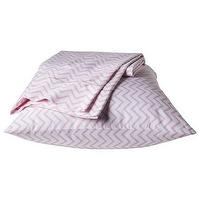 Bedding - Circo Chevron Sheet Set - Pink I Target - pink and white chevron sheet set, pink and white chevron kids bedding, pink and white chevron kids sheets,