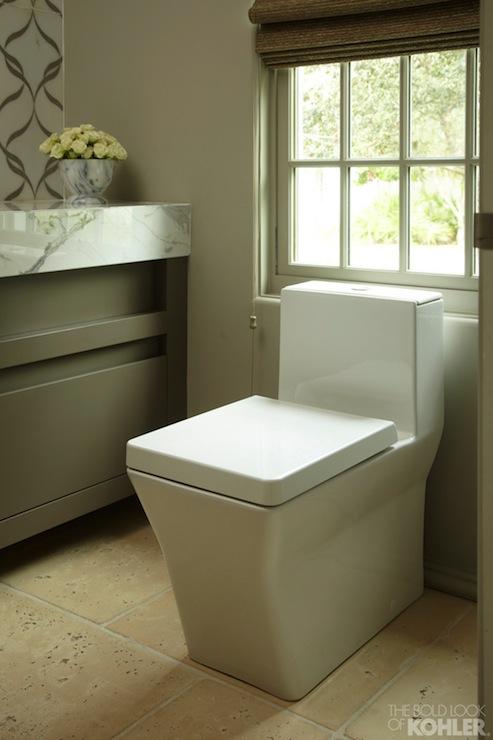 Kohler Reve Toilet Contemporary Bathroom Kohler