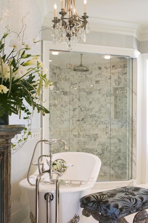Corner Shower Ideas Traditional Bathroom Denman Bennett