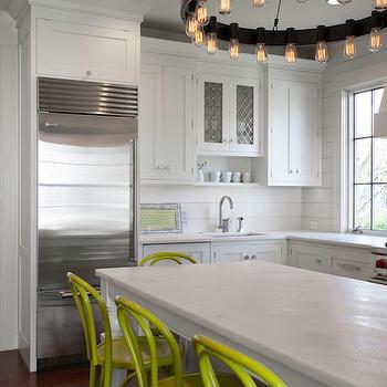 Amber demijohns vintage living room dehn bloom design for Bentwood kitchen cabinets
