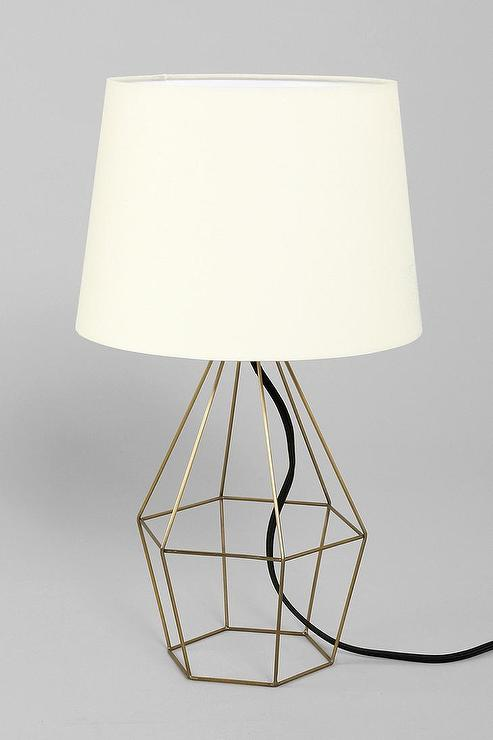 Wall Lamps Urban Outfitters : Magical Thinking Geo Wire Lamp I Urban Outfitters