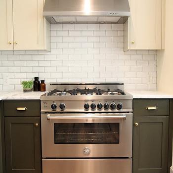 Beveled Subway Tile Backsplash, Transitional, kitchen, M. E. Beck Design