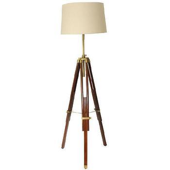 Casa Cortes Marine Tripod Adjustable Floor Lamp, Overstock.com