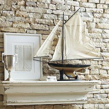 Sail Boat Model Newport Sloop, Ballard Designs