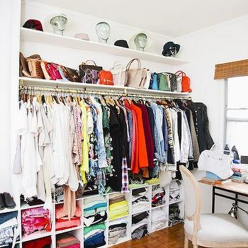 Walk In Closet Ideas, Contemporary, closet, Song of Style