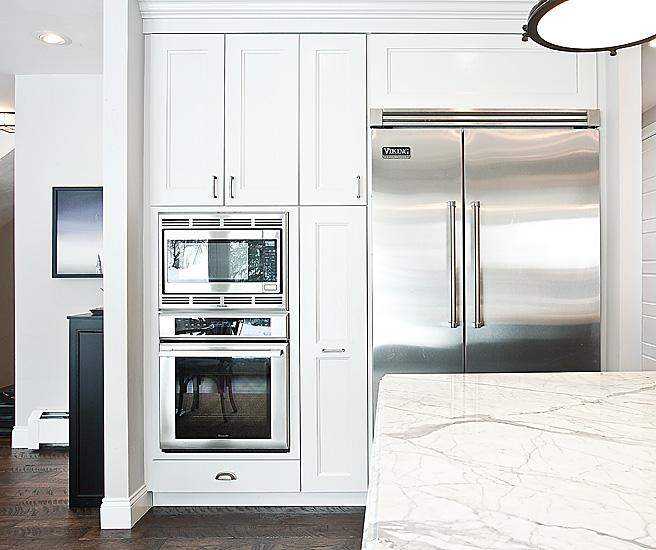 Viking Refrigerator Contemporary Kitchen Jaffa Group