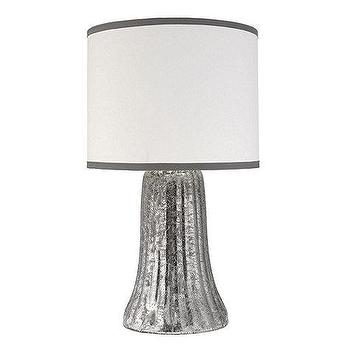 Lighting - Marlene Table Lamp | Ballard Designs - silver waterfall table lamp, silver hollywood regency style table lamp, mercury glass table lamp, mercury glass waterfall table lamp,