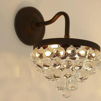 Callia Crystal Sconce, Pottery Barn