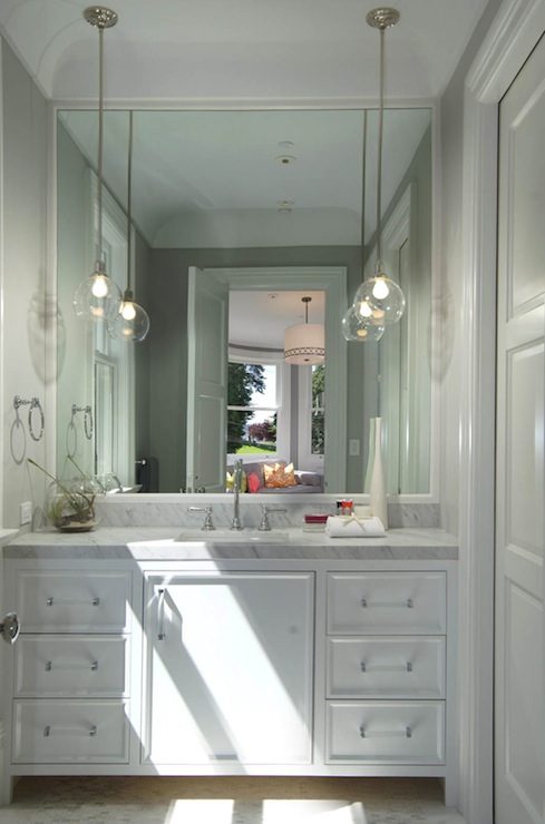 Bathroom Vanity Lighting Over Mirror Modern