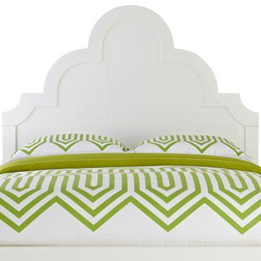 Happy Chic White Platform Bed By Jonathan Adler At Jcpenney