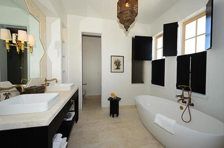 Moroccan Bathroom Ideas Mediterranean Bathroom Alys