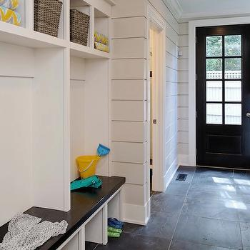 Blue Water Home Builders - laundry/mud rooms - mudroom, mud room, mudroom lockers, mudroom cubbies, built in bench, mudroom bench, mudroom cabinets,