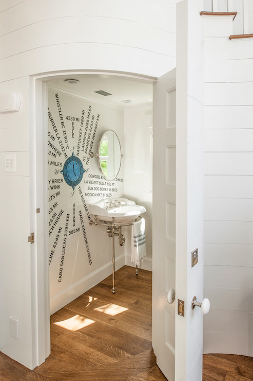 hidden bathroom eclectic bathroom curtis and windham. Black Bedroom Furniture Sets. Home Design Ideas