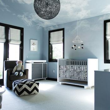 Vintage Rocker Contemporary Nursery Style At Home