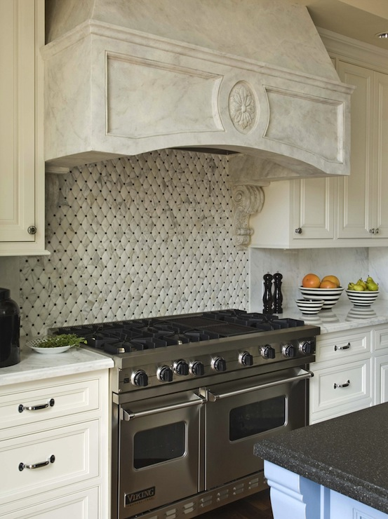 quilted tiles transitional kitchen berkley vallone