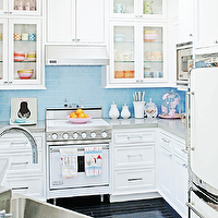 Transitional Kitchen Design on Vallone   Kitchens   White Cabinets  White Cabinetry  White Kitchen
